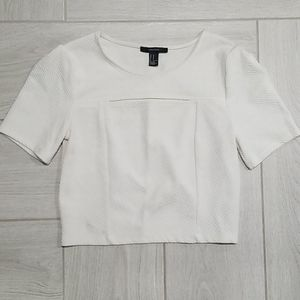 Forever 21 • Short Sleeve Crop Top, Size M
